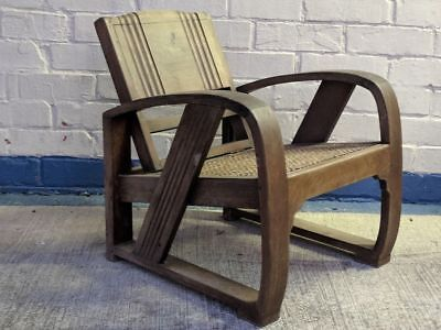 Set of 4 Art Deco Lounge Chairs