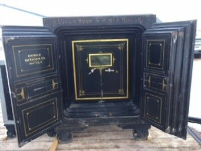 1800's Vintage Diebold Safe with keys and combo