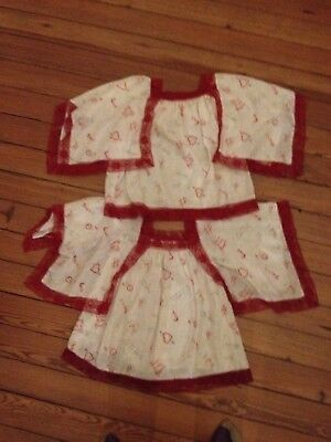 2 Vintage Girl's Tops Home Made 1972. For Age Approx 8 Years.