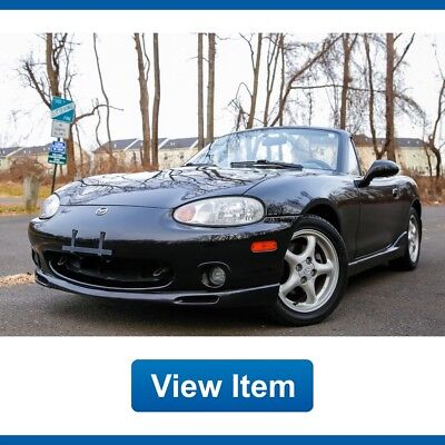 2000 Mazda MX-5 Miata  2000 Mazda Miata  Super Low 60K mi 5SP Manual Fully Serviced CARFAX