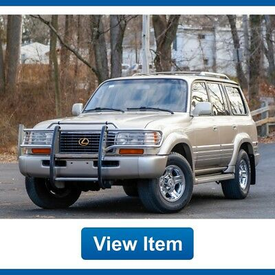 1997 Lexus LX Base Sport Utility 4-Door 1997 Lexus LX 450 1 OWNER Arizona Tow Serviced CARFAX Land Cruiser FJ80