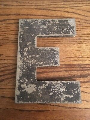 Vintage Marquee Theater Letter E Wagner Sign Service 8 Inch Antique E4