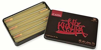 RAW Classic Wiz Khalifa Pre Rolled Cones - The Wiz Cone Tin - King Size