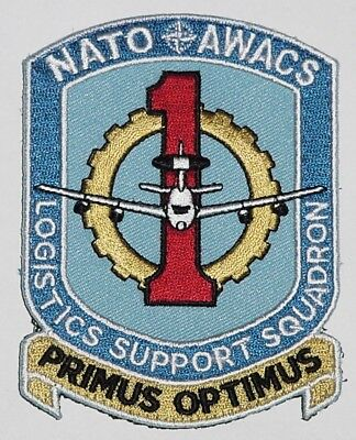 Luftwaffe Aufnäher Patch NATO AWACS Logistics Support Squadron ..........A5092K