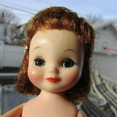 """Betsy McCall Doll Rosy Cheeks Mint Auburn Red Hair 8"""" 1958 American Character"""