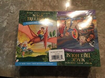 Magic Tree House Set Complete Book New Mary Pope Osborne Jack Annie 1-28 Library
