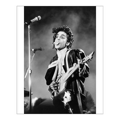 """10""""x8"""" (25x20cm) Print of FRANCE-US-ENTERTAINMENT-MUSIC-PRINCE from"""