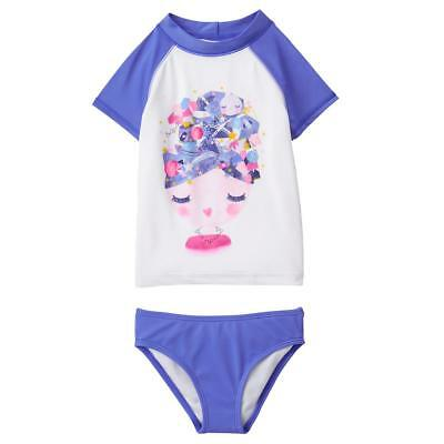 Gymboree Girl Swim Day Dream Rashguard Set Size 4 5 6 7 8 10 12 14 NWT UPF 50+