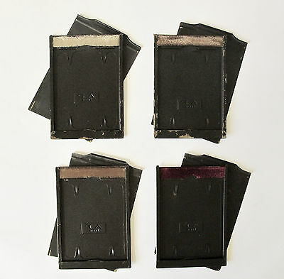 4 x Vintage A.P. Paris darkslides / plate holders  13 x 9.1cm