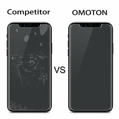 Preminum Real Screen Protector Tempered Glass for iPhone X