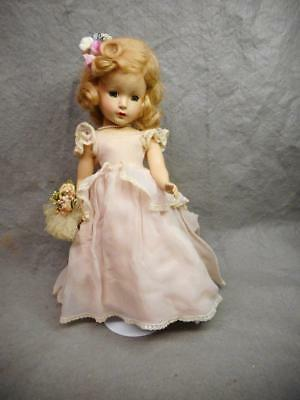 "Vintage Madame Alexander Margaret Rose 14"" Doll 1949 Hard Plastic Sleep Eyes N/r"