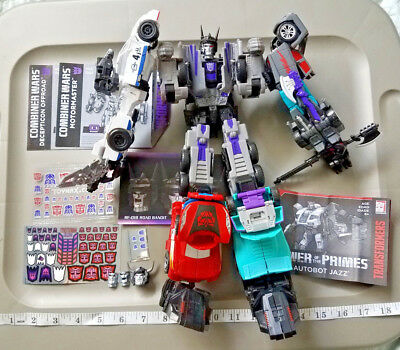 Transformers Combiner Wars Menasor Custom Jazz Gz Dead End Breakdown