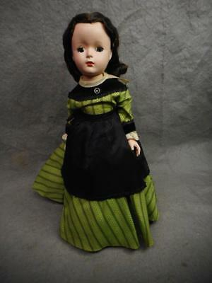 "Vintage Madame Alexander Marme Llittle Women 14"" Doll Hard Plastic Sleep Eye N/r"