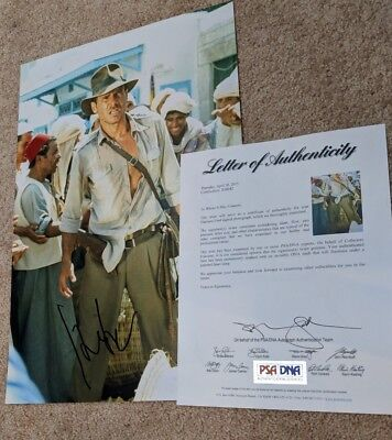Indiana Jones Raiders of the Lost Ark Harrison Ford 12x18 PSA/DNA
