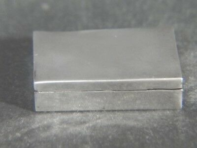 Vintage sgd Jose ANTON Mexico Sterling Silver Hinged PILL BOX
