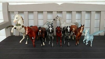 Breyer, Hartland and Stone, Lot of 10 models! For collecting, custom or play!