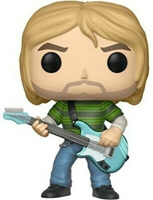 FUNKO POP! ROCKS: Kurt Cobain (Striped Shirt) [New Toy] Vinyl Figure