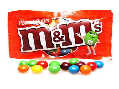 M&Ms Peanut Butter Regular Box of 24