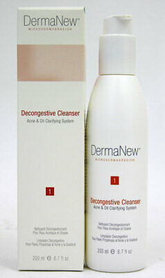 DermaNew Microdermabrasion Acne Oil Decongestive Cleanser 6.7 oz Purify Face