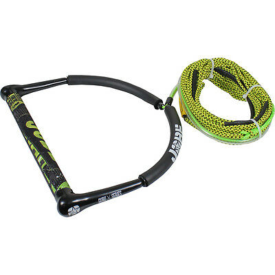 Jobe Guru Handle & 70ft Spectra Waterski Wakeboard Kneeboard Rope