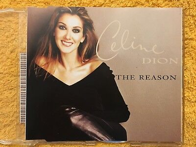 Celine Dion – The Reason, Rare South African CD-single