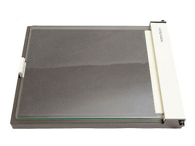 Darkroom enlarger Paterson contact frame, plain glass, new foam support,