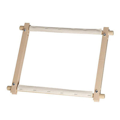 Elbesee 2H[*]R | Polished Hardwood Rotating Tapestry/Embroidery Frame