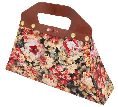 Magical Nanny Bag Floral Cardboard Prop Costume Outfit Accessory Carpet Handbag