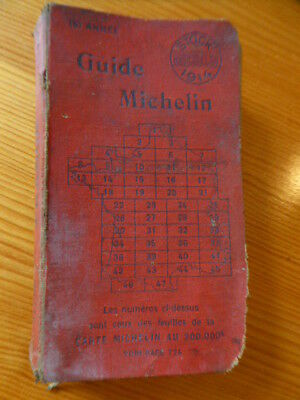 guide Michelin 1914 / bur