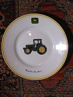 John Deere Dish/Plate~9 Inch~ NOTHING RUNS LIKE A DEERE! VERY NICE!!