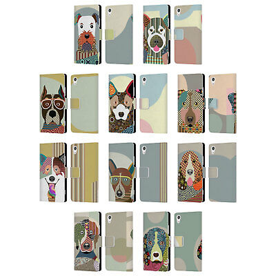 Official Lanre Adefioye Dogs 1 Leather Book Wallet Case Cover For Sony Phones 1