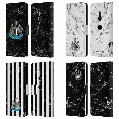 Newcastle United Fc Nufc 2017/18 Marble Leather Book Case For Sony Phones 1