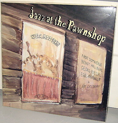 PROPRIUS 2-LPs: JAZZ AT THE PAWNSHOP - Domnerus etc. - 1990 WHITE Labels GERMANY