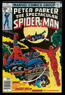 The Spectacular Spider-Man (1976 Series) # 6 - May 1977 | 1.5 FA/GD