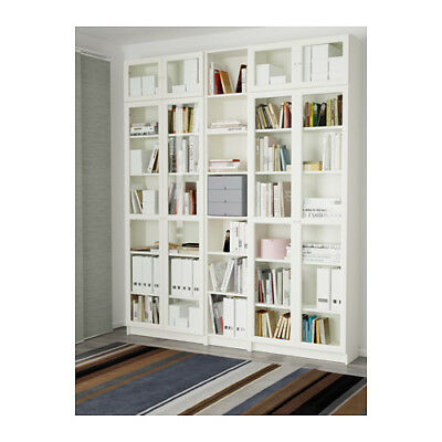 Ikea billy oxberg libreria marrone nero vetro - Mobile billy ikea ...