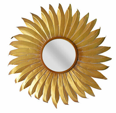 Mirror Baroque Wall Mirror Metal Mirror Vintage Star Decorative Mirror