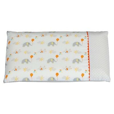 ClevaMama Replacement Baby Pillow Case (Elephant) NEW