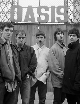 Oasis black and white A4 260gsm Poster