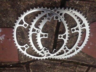 Chainrings 144PCD 54 ,52x2 . TA etc Superb condition