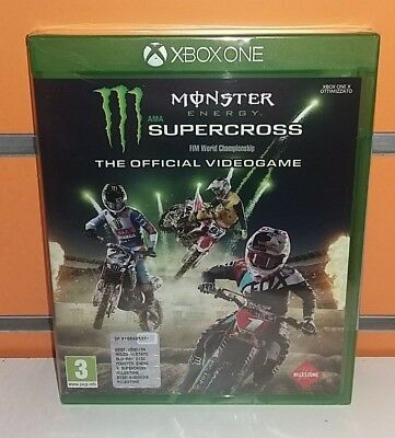 Monster Energy Supercross - The Official Videogame XBOX ONE NUOVO ITA