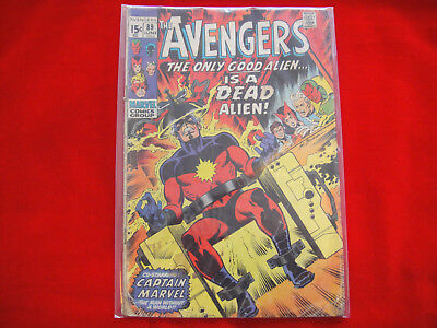 The Avengers #89 ~ Jun 1971 ~ Marvel Comics ~ Kree Skrull War Pt.1