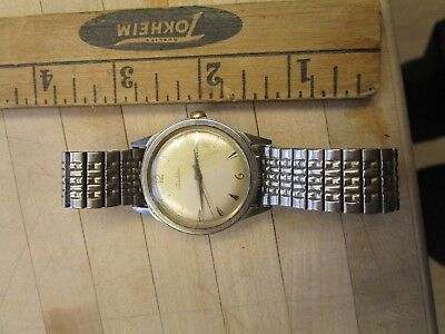 Vintage Tradition 23 jewel  Stainless Wrist Watch Wind Watch