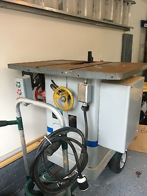 """Rockwell Unisaw 10"""" Table Saw 3HP 3 phase"""