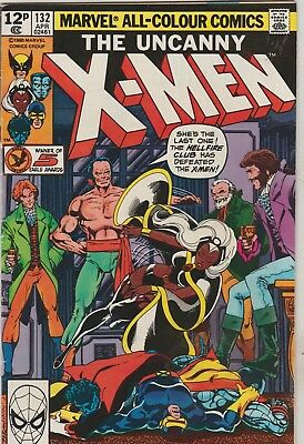 *** Marvel Comics Uncanny X-Men #132 Hellfire Club F ***