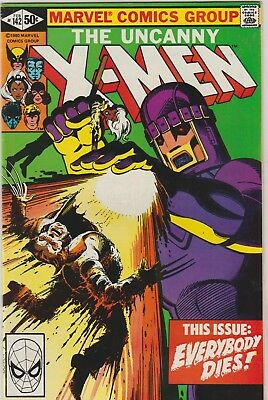 *** Marvel Comics Uncanny X-Men #142 Days Of Future Past F+ ***
