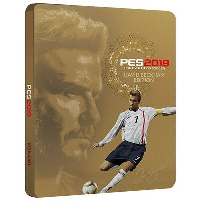 Pes 2019 - Beckham Edition Ps4 Pro Evolution Soccer 19 Italiano Nuovo Steelbook