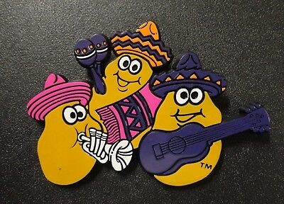 "HTF McDonalds Mexican Mariachi Band Chicken McNuggets Large 3""+ Crew Uniform Pin"