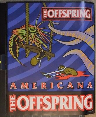 Frank Kozik - The Offspring - Tour Blank - Americana Tour 1998 - S/n Ap