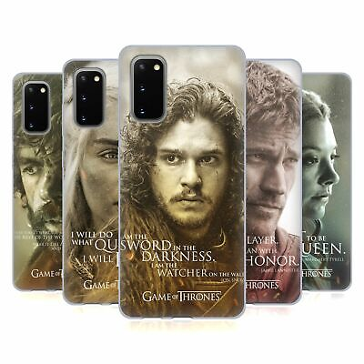 Official Hbo Game Of Thrones Character Portraits Gel Case For Samsung Phones 1