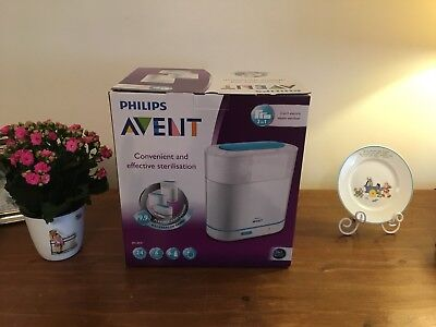 Philips Avent 3-In-1 Electric Steam Baby Steriliser Excellent Used Condition